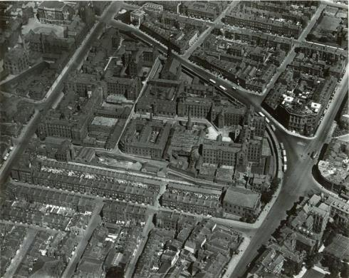Liverpool Workhouse ariel view